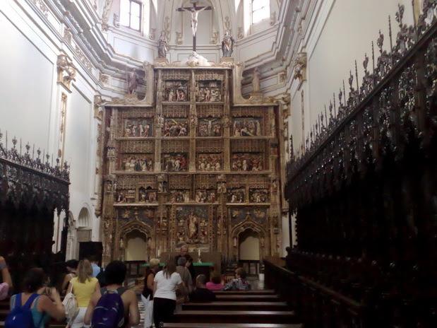 Archivo:Monasterio de Santa María de El Paular- Retablo.jpg