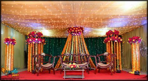 Holud stage decoration , Dhaka, Bangladesh   BD Event