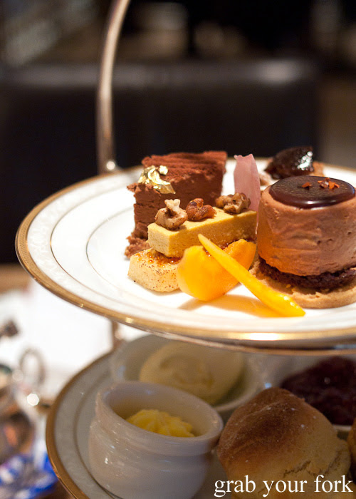 Desserts by Johnny Iuzzini at The Langham Hotel Melbourne afternoon tea for the Melbourne Food and Wine Festival 2014