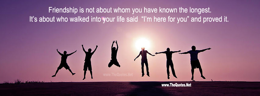 Facebook Cover Image Friendship Sayings Thequotesnet