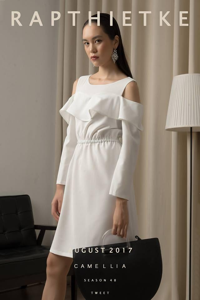 Đón thu ngọt ngào cùng những thiết kế váy liền tay lỡ mà giá chưa quá 700 ngàn đến từ các thương hiệu Việt - Ảnh 16.