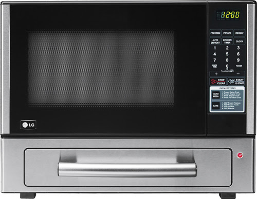 LG Microwave + Pizza Oven