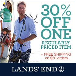Lands' End 30% off One