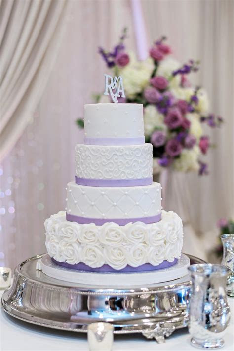 Elegant Florida Wedding in Shades of Purple   MODwedding