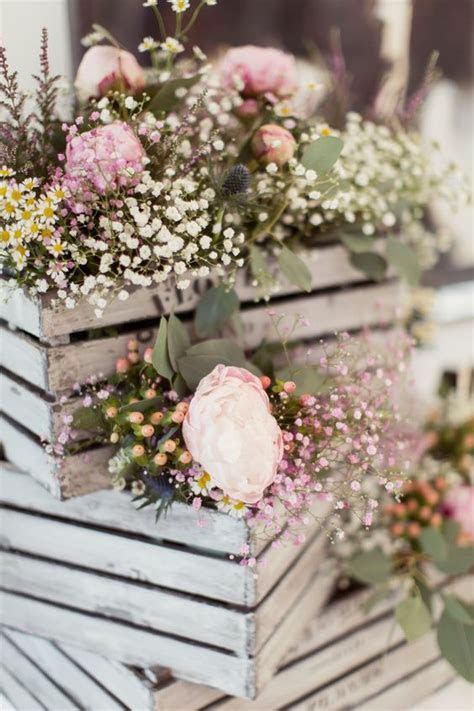 60 Rustic Country Wooden Crates Wedding Ideas   Deer Pearl
