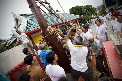 Go Teng Pole Raising