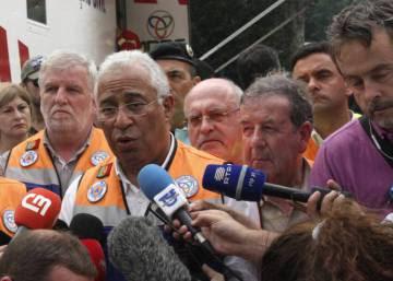 El Gobierno portugués sufre las primeras críticas por la tragedia