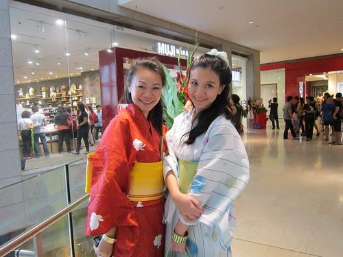 Girls Day Out! Yukata in Pavilion :)