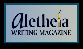 Aletheia Logo - Blue Border