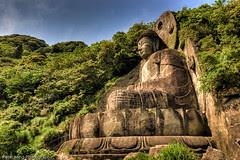Japans larges stone Buddha
