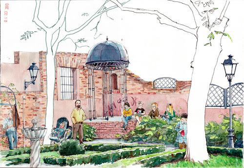 Jardín del Príncipe de Anglona by aidibus