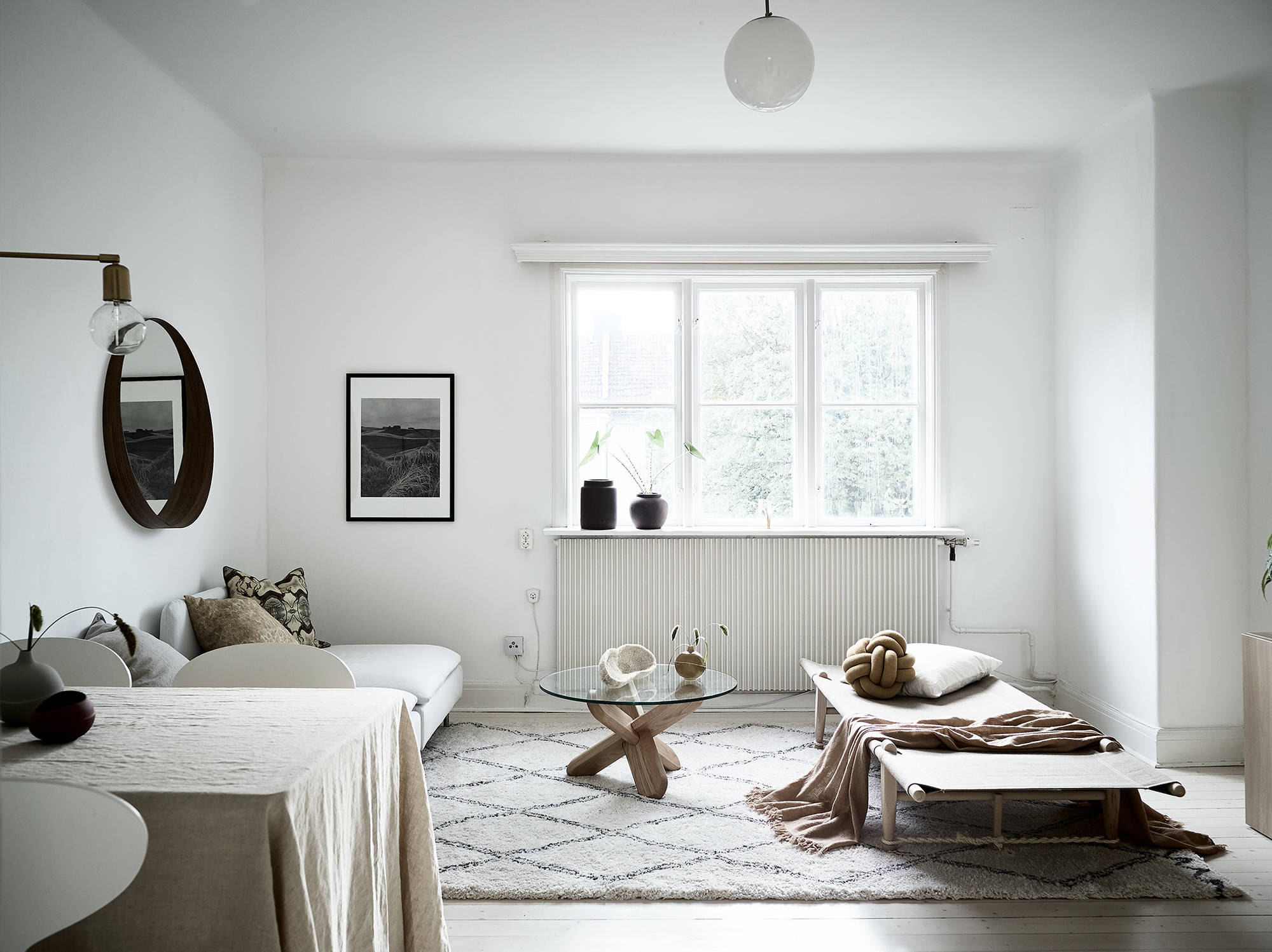 Minimal living room in natural colors - COCO LAPINE ...