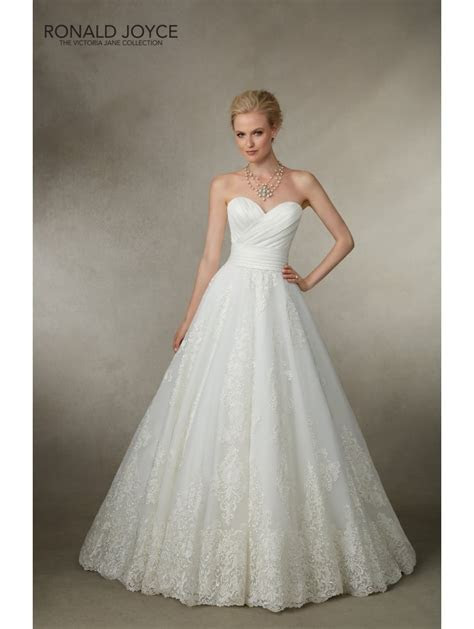 Ronald Joyce 18018 Joy Ball Gown Style Wedding Dress White