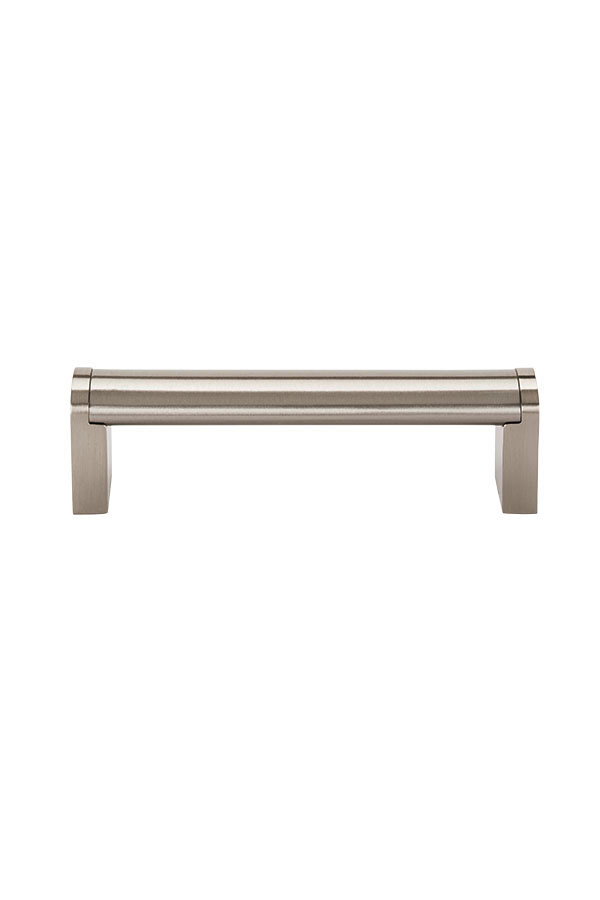 Modern Brushed Nickel Cabinet Pull - 96mm - Kitchen Craft