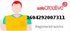 Safe Creative #1604292007311