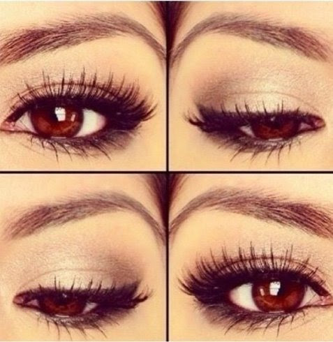 Best colour eye makeup for brown eyes