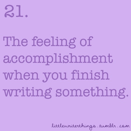 yes. it reminds me I have to finish writing something that got started long time