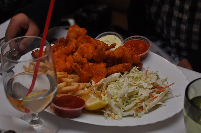 Sesame Grill- Arcadia, CA: Fried Seafood Platter