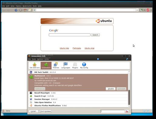 Ubuntu Multisearch