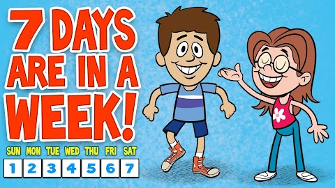 Days Of The Week Song Lyrics For Toddlers