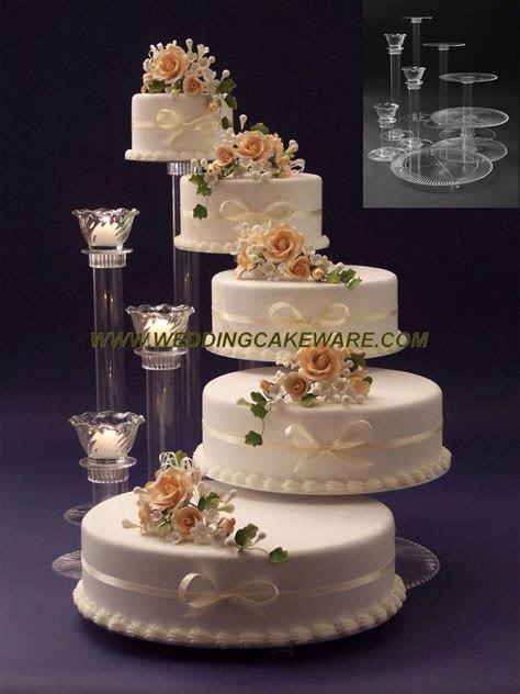 Best 25  Tiered wedding cake stands ideas on Pinterest