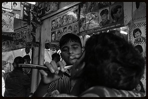 Biloo Barber  Of Bandra Bazar Road by firoze shakir photographerno1
