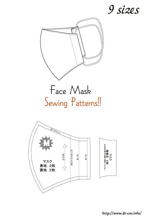 Diy Face Mask Measurements