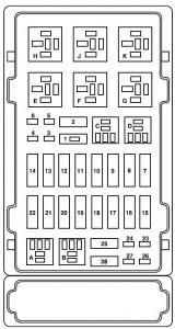Ford E Series E 150 E150 E 150 2004 Fuse Box Diagram Auto Genius