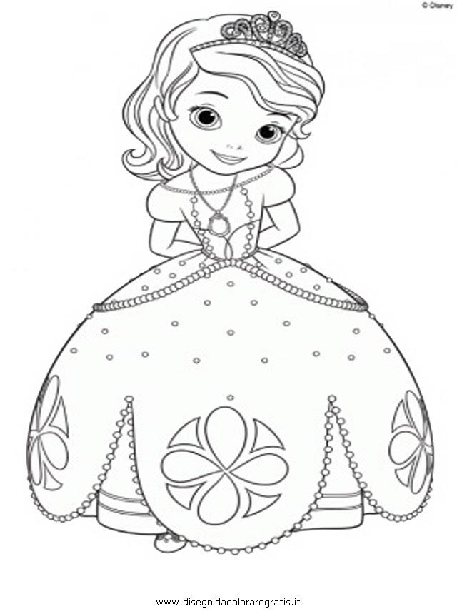 Principessa Da Colorare In Immagini Da Colorare Pravreshcom