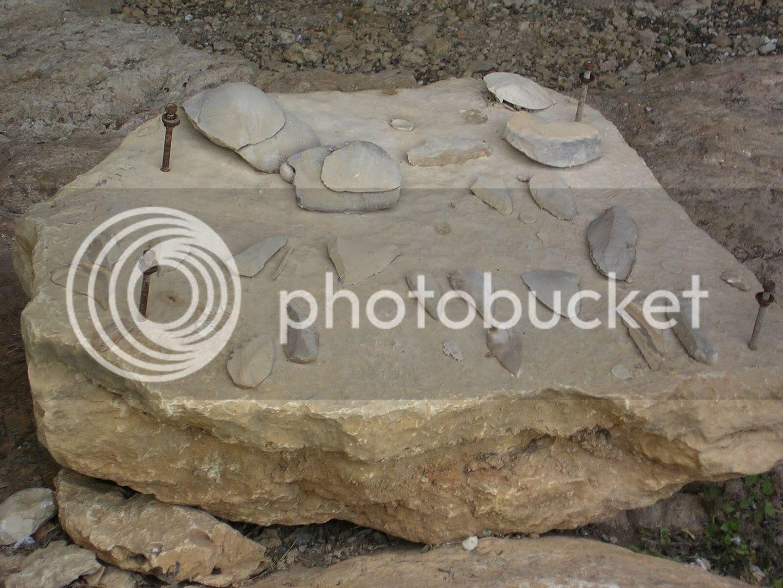 סכיני אבן שנמצאו בנחל מערות