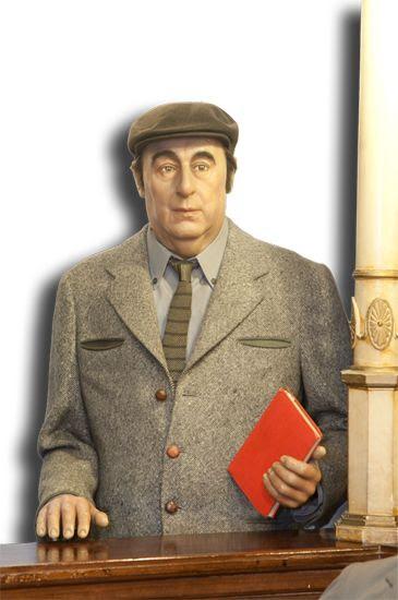 Pablo Neruda - Museo de Cera de Madrid, España