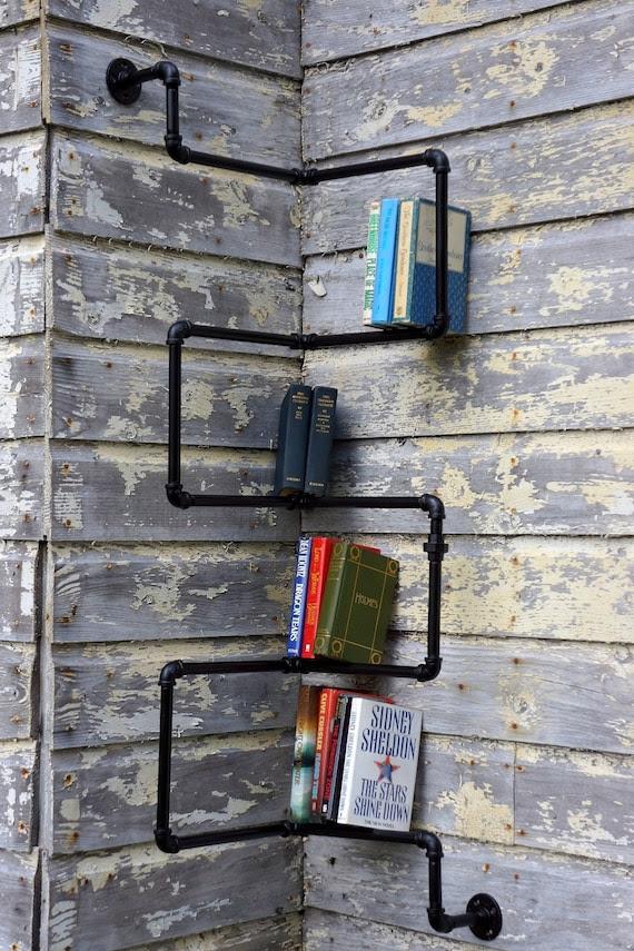 Five Tier Bookshelf Corner Unit