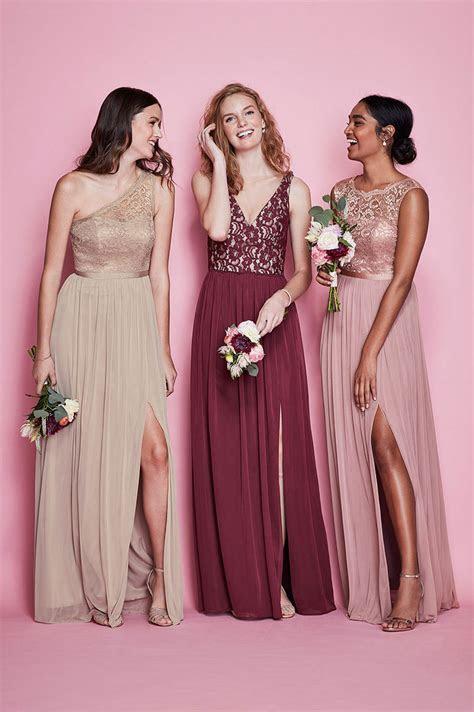 Mismatched Bridesmaid Dress Styles, Colors   David's Bridal