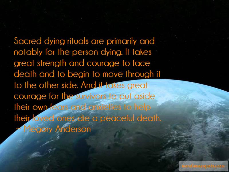 Megory Anderson Quotes Top 11 Famous Quotes By Megory Anderson