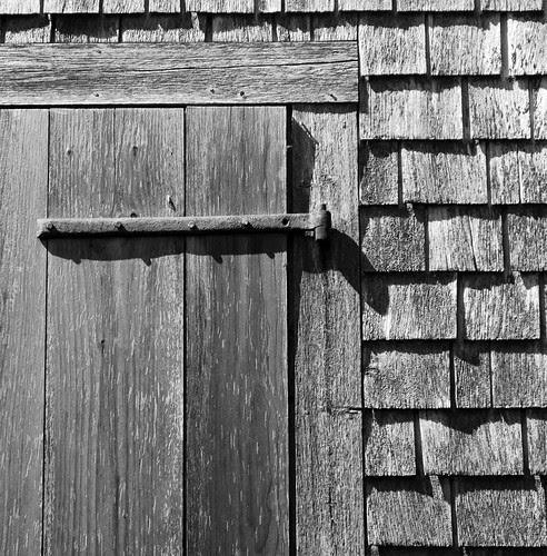 Watsons Farm bw door