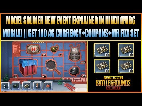 MODEL SOLDIER NEW EVENT EXPLAINED IN HINDI (PUBG MOBILE) || GET 100 AG C...