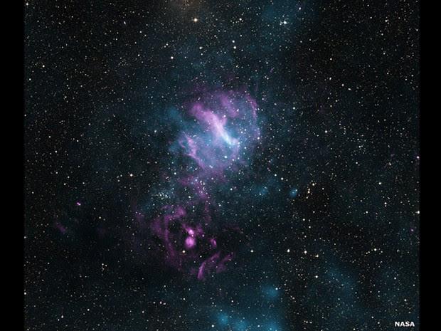Objeto conhecido como MSH 11-62, contém uma nebulosa interior de partículas carregadas (Foto:  Nasa/CXC/SAO/P.Slane)