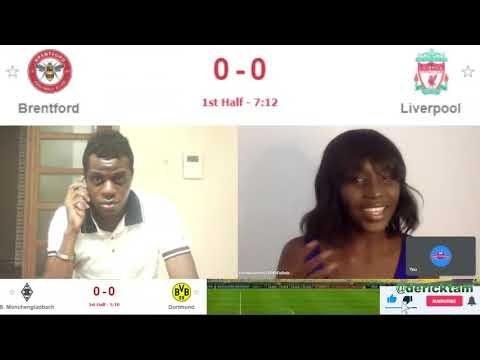 Watch Live Match: Brentford Vs Liverpool