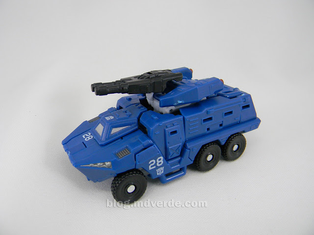 Transformers Breacher HftD Scout - modo alterno