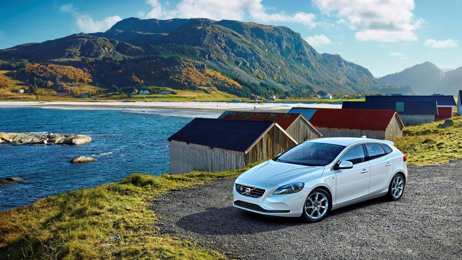 2016 Volvo V40 HD wallpapers Download