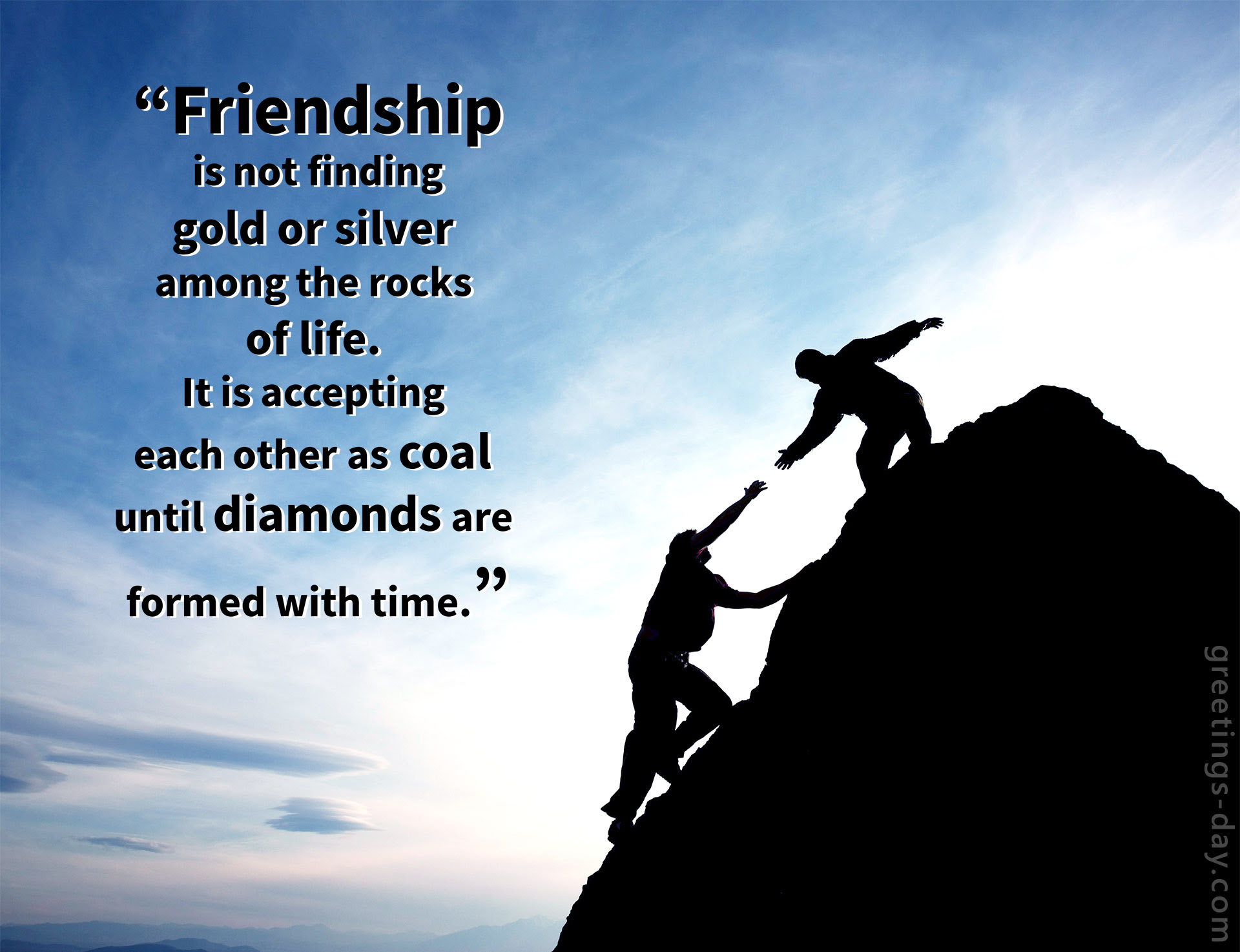 Greeting Cards For Every Day Friendship Quotes