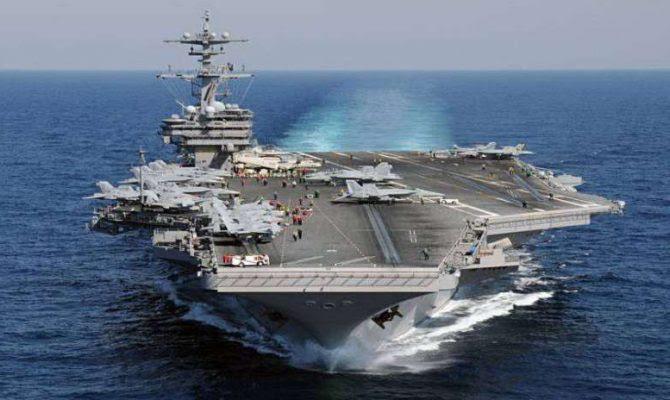 Έκτακτη είδηση..οι Αμερικανοί κινητοποίησαν 7 αεροπλανοφόρα με δεκάδες πλοία συνοδείας,για πρώτη φορά από το 2012.Κορυφώνεται η σύγκρουση με την Ρωσία!