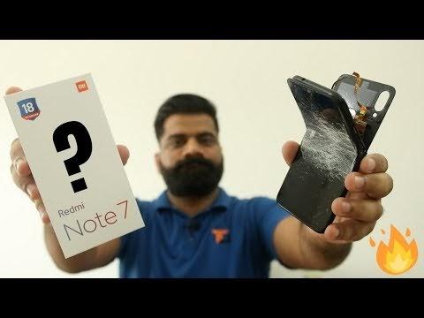 Redmi Note 7 Broken During Bend Test