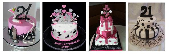 21st Birthday tasty cake for wife