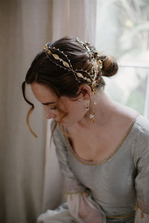 wedding hair ornament, bridal headpiece, bridal hair band