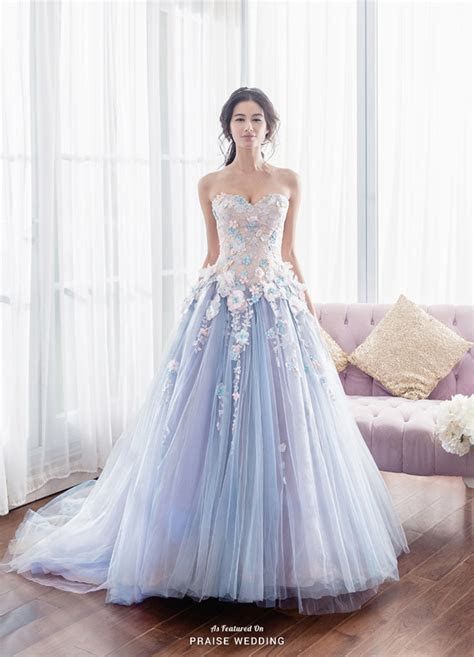 This fairy tale inspired gown from Anovia adorned with