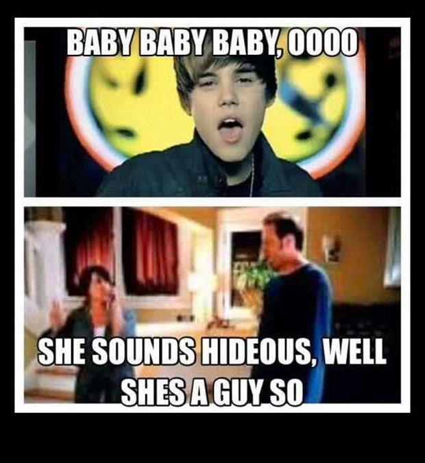 she sounds hideous