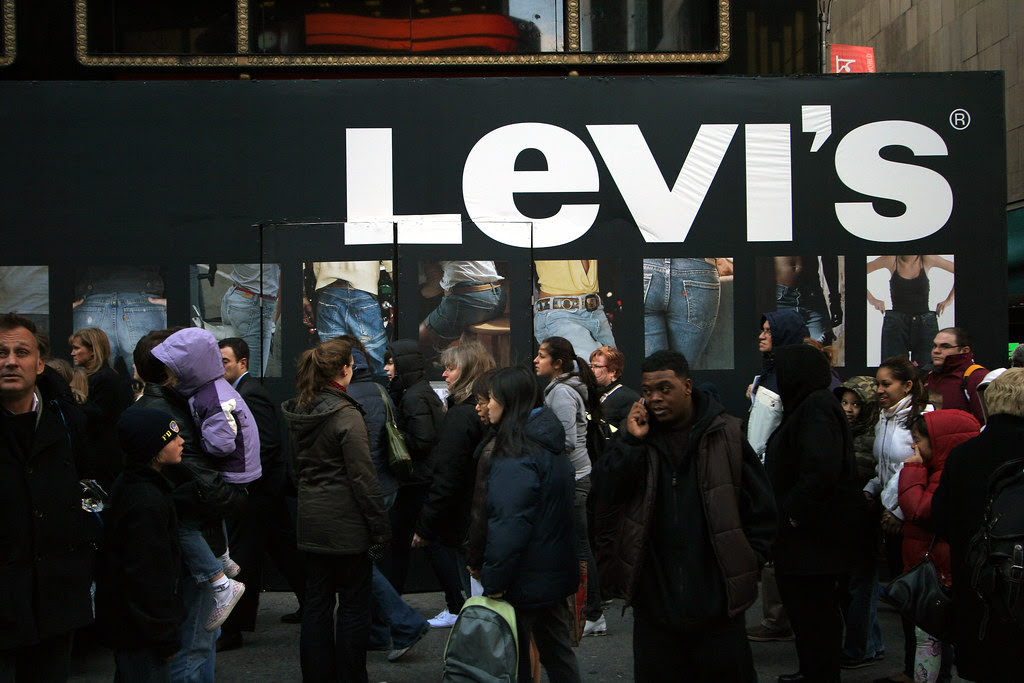 Levi's coming to Times Square