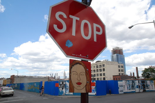 Stop Sign on Wythe