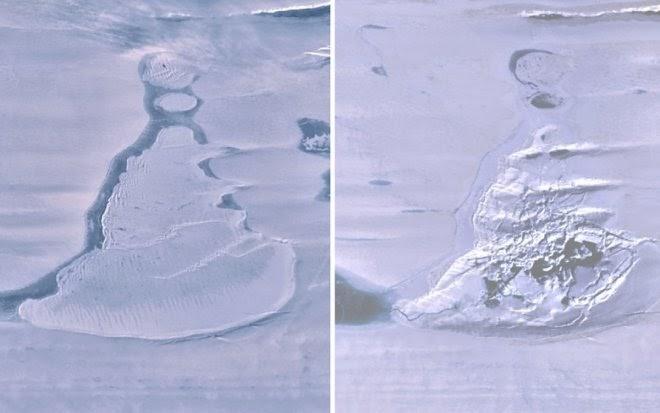 В Антарктиде исчезло гигантское подледное озеро из-за изменений климата